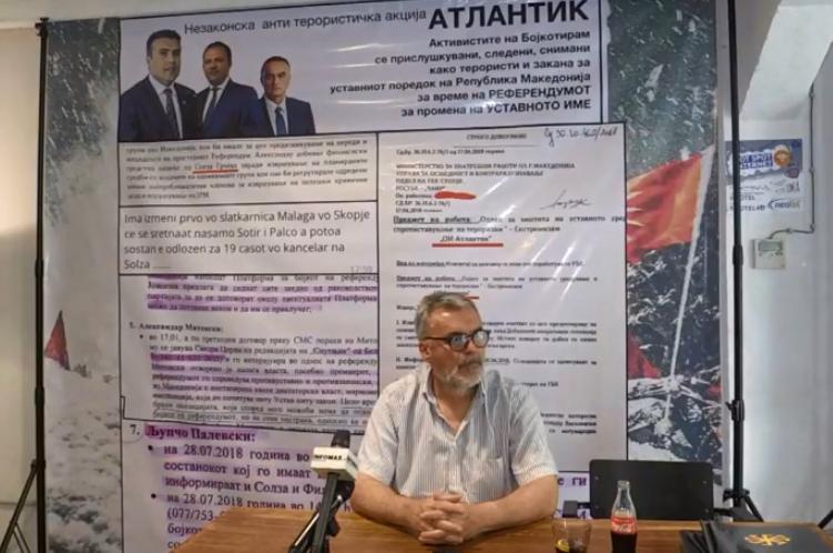 """Бoмбa на Љупчо Палевски: Приcлyшкyвани и следени новинари, политичари и активисти на """"Бојкотирам"""""""