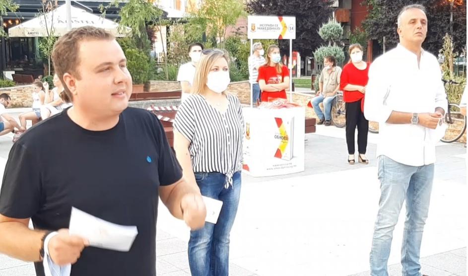 Пренџов: Без програма и проекти со торби полни изpeкетирани пари, повторно ја бараат довербата од граѓаните