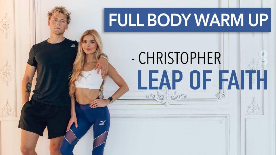 Лесни вежби за загревање на целото тело
