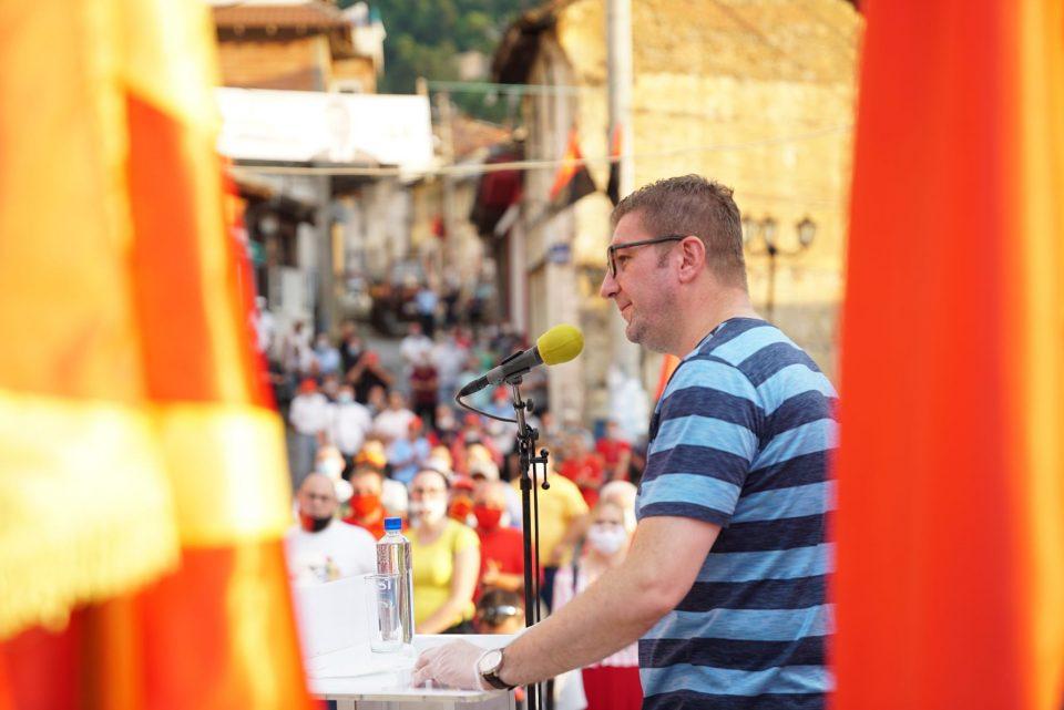 Мицкоски од Кратово: Огромна победа е во најава! Луѓето се обединети околу обновата и ќе гласаат за правда во Македонија