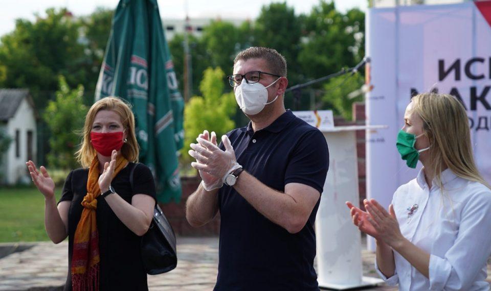 Мицкоски: ВМРО-ДПМНЕ се обврзува на 640 милиони субвенции и загарантиран откуп за земјоделците и 4 милијарди домашни и странски инвестиции