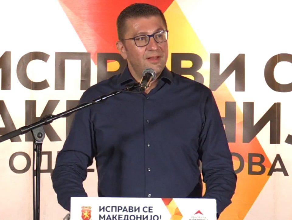 Мицкоски од Кичево: Ова е одлучувачки момент, ова не се обични избори