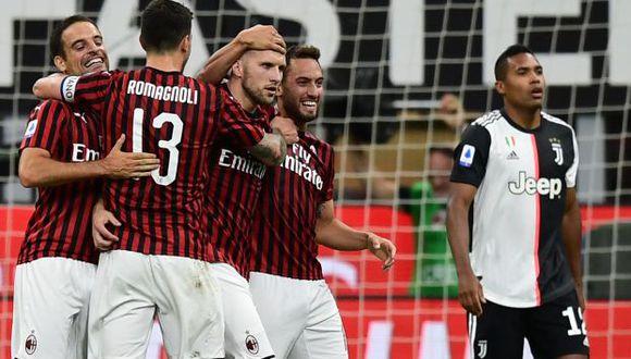 Милан му го нанесе четвртиот пораз на Јувентус