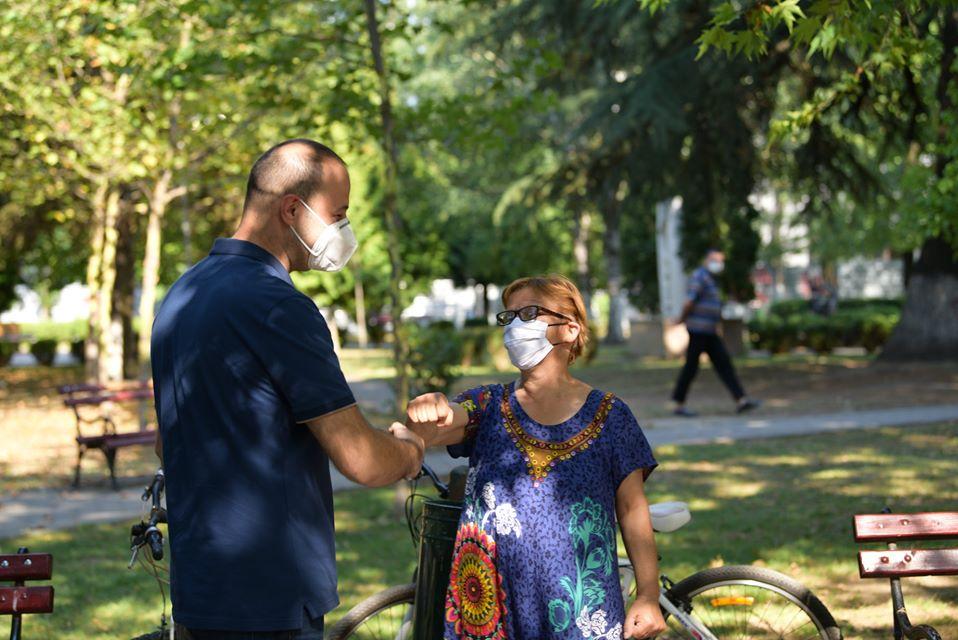 Мисајловски на средба со граѓани во Ѓорче Петров