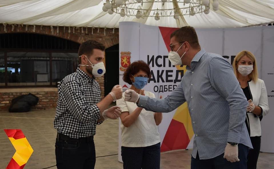 Муцунски: Нашиот императив не е ниту криминал, ниту нечесната работа, ниту понижувањето на својот народ – туку Македонија!