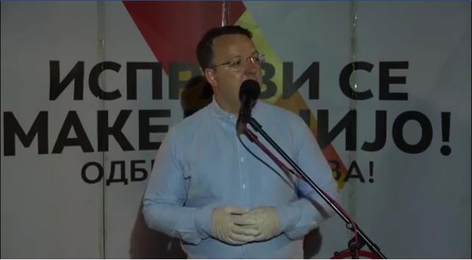 Николоски: Мојот против кандидат е човек кој што го промени името на оваа држава