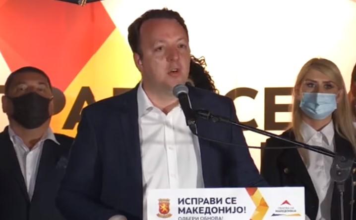 Николоски: ВМРО-ДПМНЕ се обврзува на реализација нa стратешки најважниот автопат за Македонија