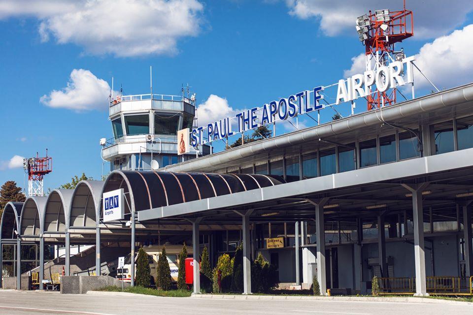 Слета првиот авион со патници на охридскиот аеродром