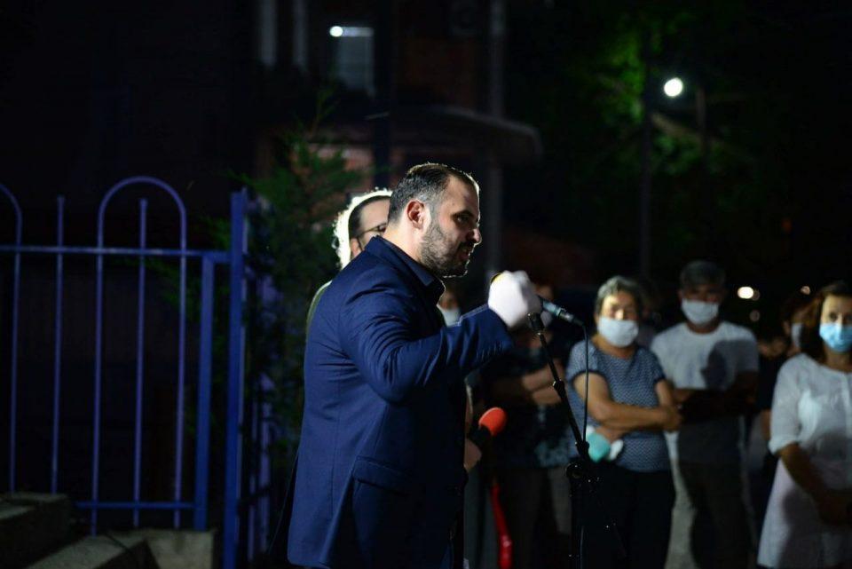 Ѓорѓиевски: Денови нѐ делат до конечната победа, денови нѐ делат кога заедно ќе го кренеме македонското знаме и ќе прогласиме пад на режимот