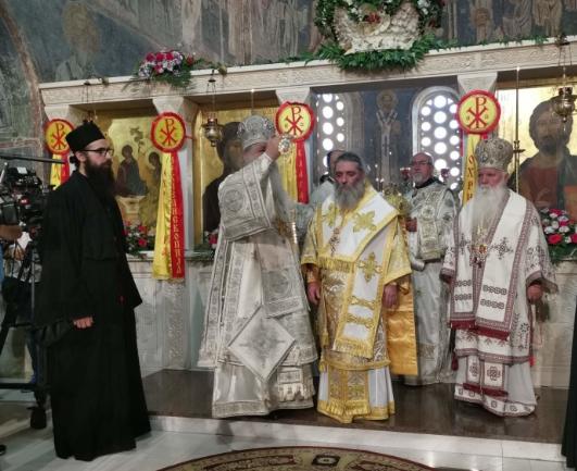 Отец Партениј хиротонисан за нов епископ на МПЦ-ОА