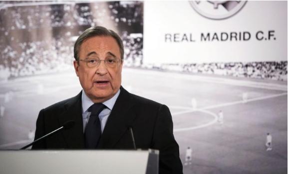 Перез реизбран за претседател на Реал Мадрид