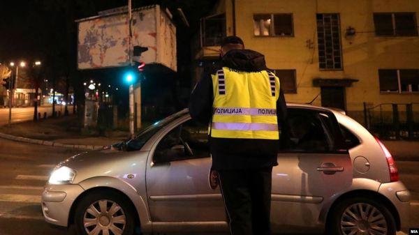 МВР: 112 санкционирани возачи во општина Центар