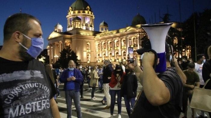 Нови протести во градовите низ Србија