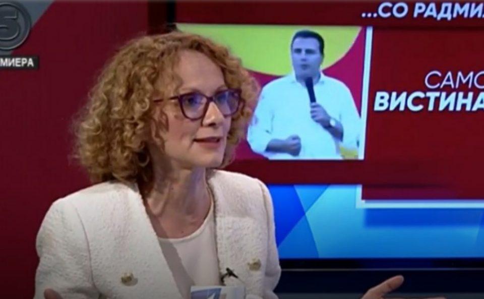 Шекеринска упорно продолжува да ги лаже граѓаните дека СДСМ го изградиле автопатот Кичево-Охрид, иако и Бочварски и Чомовски кажаа дека тоа не е точно