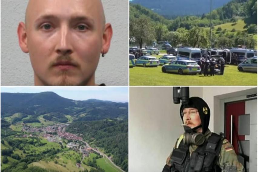 Уапсен германскиот Рамбо: Повеќе од 2.400 полицајци го барале 5 дена во шума