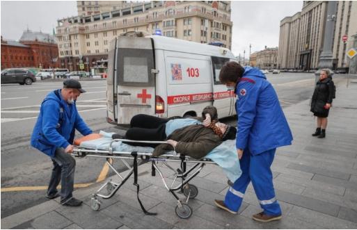 Во Русија над 6.400 новозаразени со коронавирус