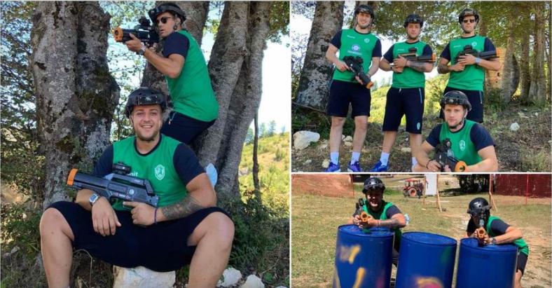 """ФОТО: """"Зелените"""" ги наместија нишаните на тим-билдинг во Маврово"""