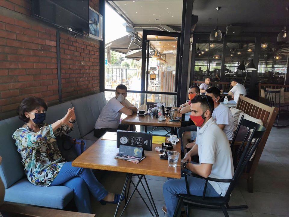 Силјановска на средба со претставници на Млади за Македонија