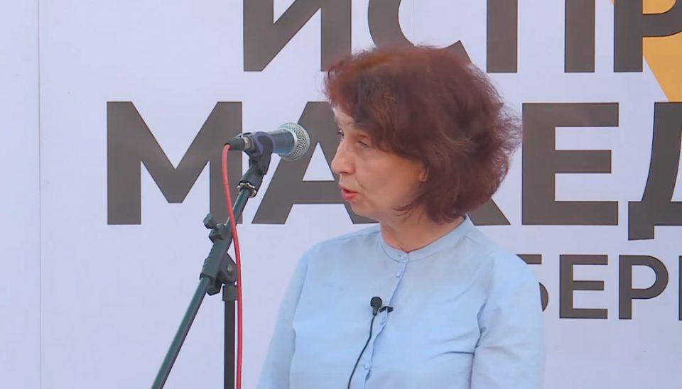 Силјановска: Нема место во моето срце и мојот ум за северна! (ВИДЕО)