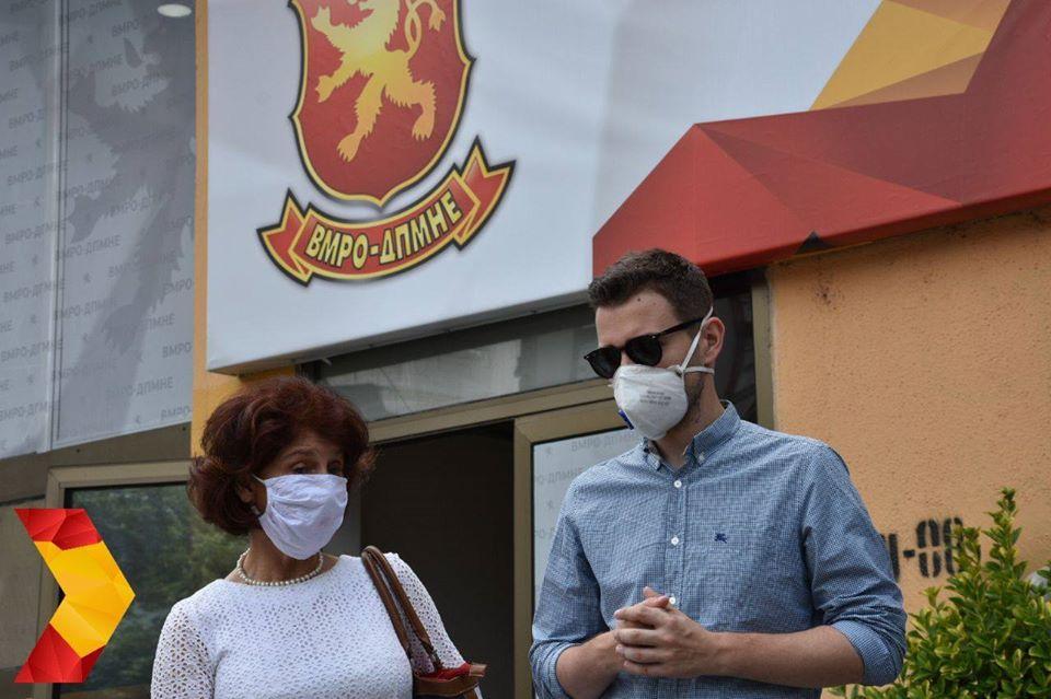 Отворен Регионалниот граѓански штаб на кандидатите на ВМРО-ДПМНЕ од ИЕ 1