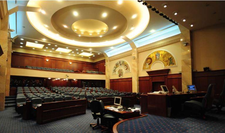 Конститутивната седница на Собрание во вторник под посебни протоколи