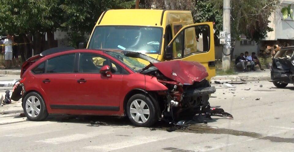 Комбе со мигранти предизвика сообраќајна несреќа
