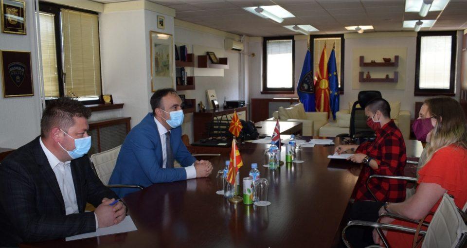 Проштална средба на министерот Чулев со британската амбасадорка Рејчел Галовеј