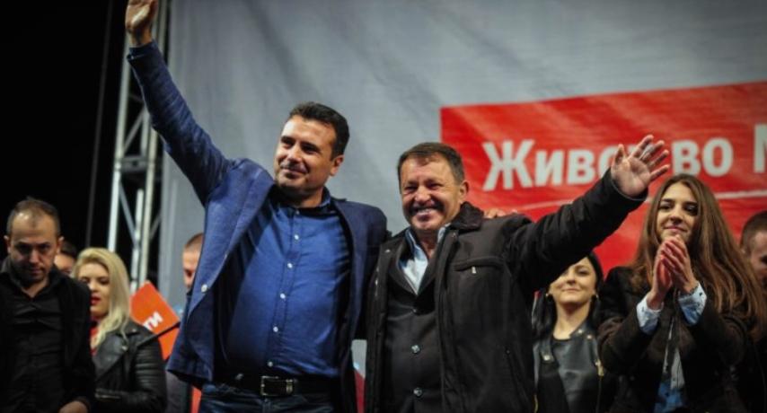 """""""Лидер"""": Тепачка во штабот на СДСМ во Македонски Брод, повреден е градоначалникот"""