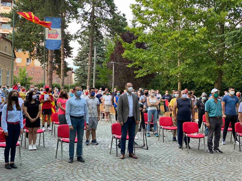ФОТО: Мисајловски на средба со граѓаните на Ѓорче Петров