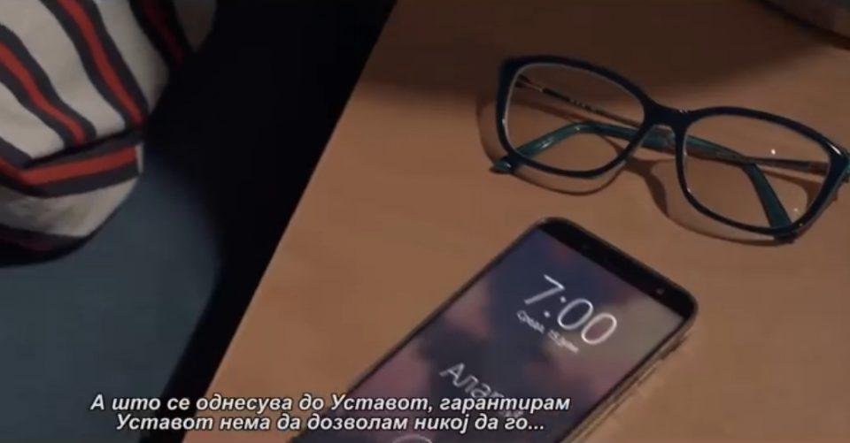 """ВИДЕО: """"На 15-ти јули да ставиме крај на лагите на Зоран Заев, никогаш повеќе лаги и измами"""""""