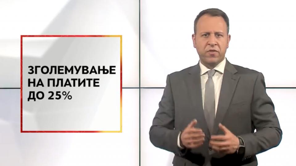 Јанушев во видео обраќање до граѓаните: Македонија мора да биде земја на среќни граѓани