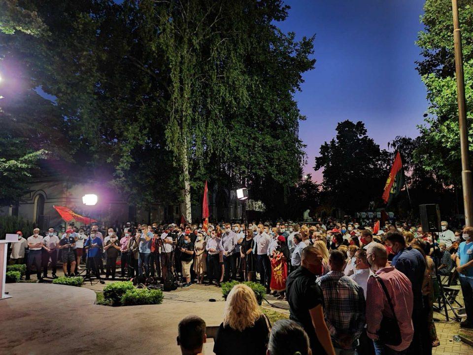 Мисајловски: Благодарност до сите граѓани кои овие изборни денови не следеа насекаде, благодарам од срце на нашата најсилна Изборна единица 2!