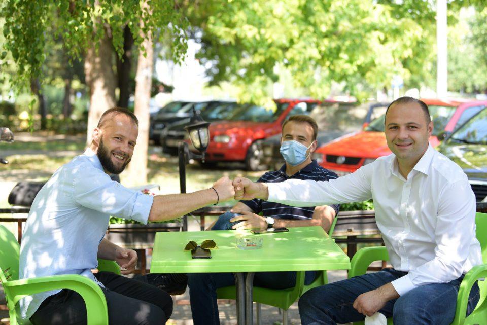 Мисајловски се сретна со македонската фудбалска легенда Остоја Стјепановиќ