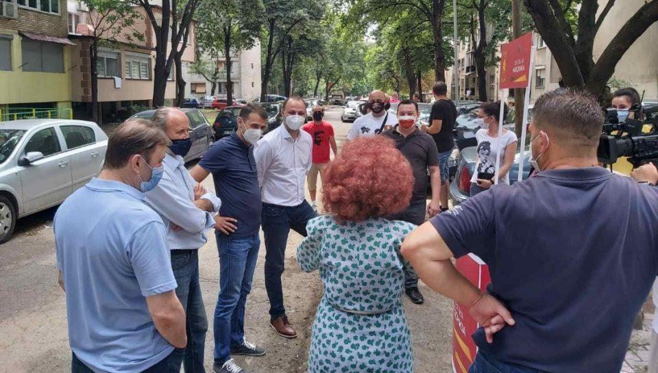 Мисајловски: Чаир е заборавен од власта, ние ветуваме дека тука повеќе нема да има граѓани од втор ред, туку илјадници проекти за сите