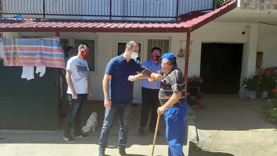 Мисајловски во посета на Младо Нагоричане: Секој граѓанин заслужува да има достоинствен живот и ние сме должни тоа да го обезбедиме
