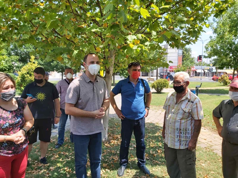 ФОТО: Мисајловски на средба со пензионерите од Ченто