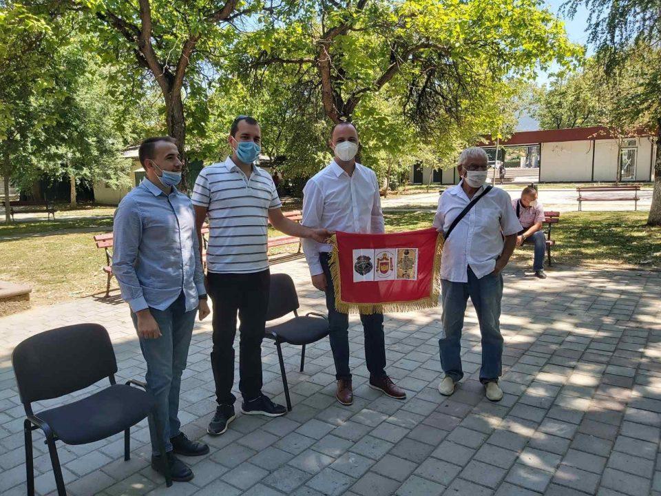 ФОТО: Мисајловски на средба со просветните работници во Ѓорче Петров