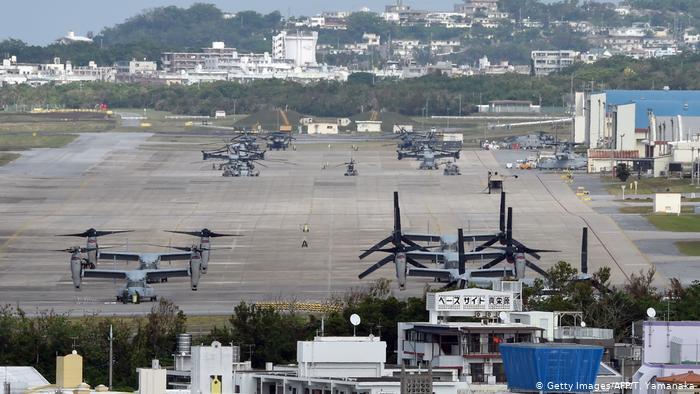 Американската воена база на Окинава во карантин поради инфекции