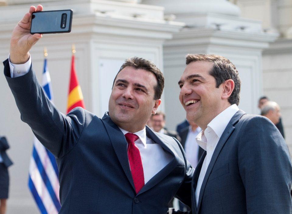 Ципрас побрза да му честита на другарот Заев