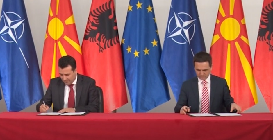 """Искуството ги вознемири граѓаните: Заев """"патриотски"""" застана против федерализација на Македонија?!"""