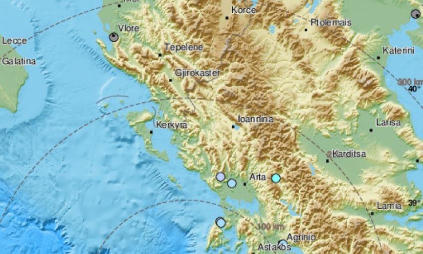 Силен земјотрес во Грција почувствуван и во Охрид и Битола