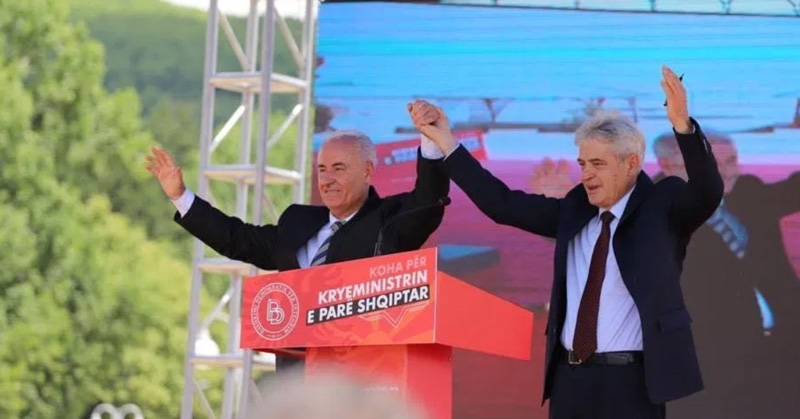 Дали за лични интереси Али Ахмети му го сруши угледот кај Албанците на нотарот Насер Зибери?!