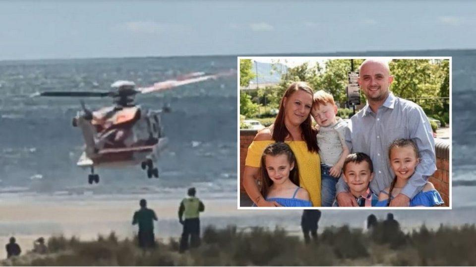 Татко на седум деца се удави обидувајќи се да ги спаси нив (ФОТО)