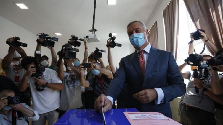 Ѓукановиќ гласаше на изборите во Црна Гора