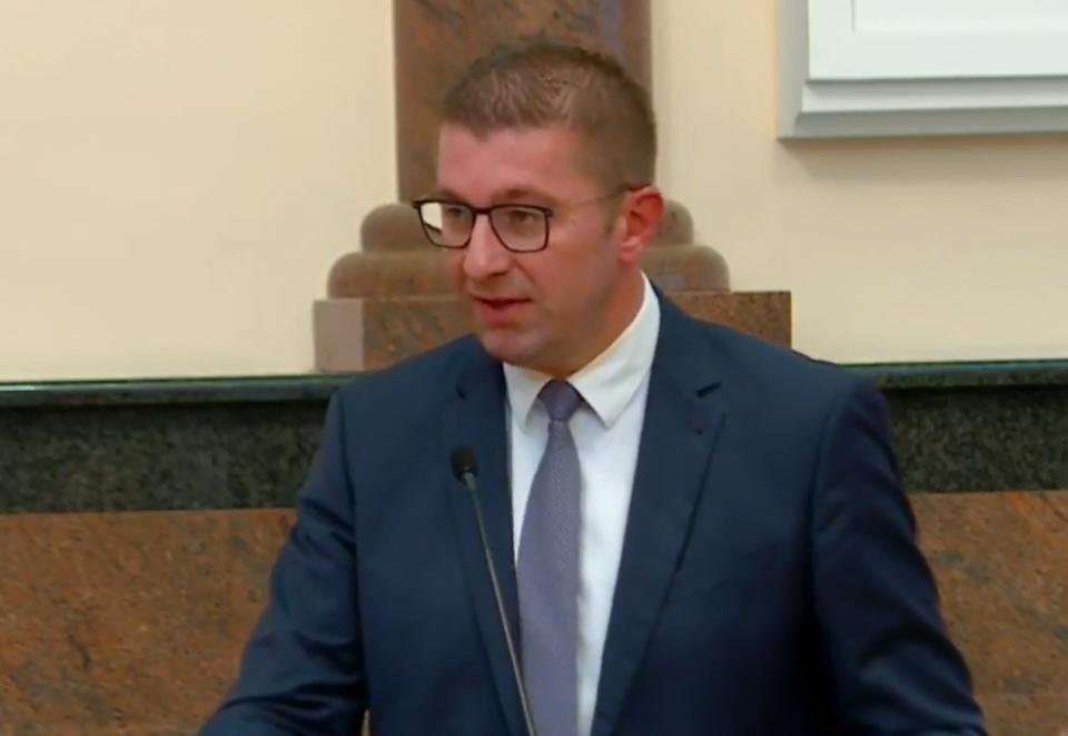 Мицкоски: ВМРО-ДПМНЕ ќе почне преговори за парламентарно мнозинство