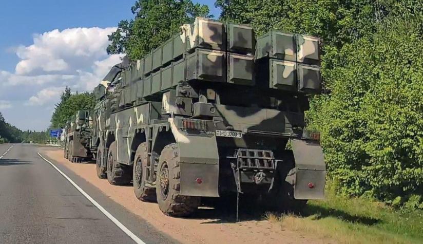 Белорусија на границата со Литванија и Полска испрати воено засилување