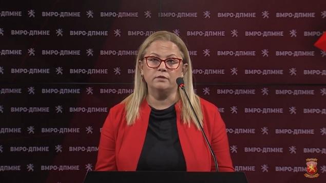 Стојаноска: Државата добива нова влада со стари, истрошени транзициски и искорумпирани кадри, влада за спас на криминалот