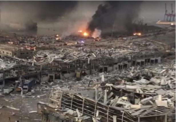 Абуд: Во Бејрут околу 300.000 луѓе останаа без дом