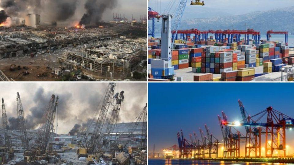ПРЕД И ПОТОА: Како изгледа Бејрут после кобната несреќа? (ФОТО)