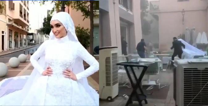 """Невестата од Бејрут: """"Мислев дека ќе умрам"""" или како најубавиот ден во животот на млада докторка стана кошмар"""